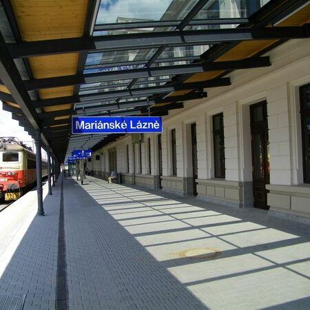 Exteriér nádraží