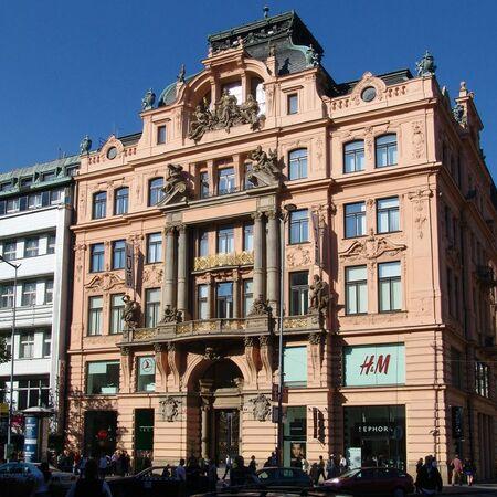 Kanc. dům na Václavském náměstí