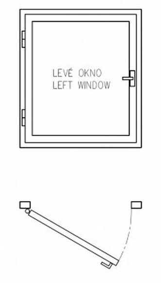 Schéma levého okna