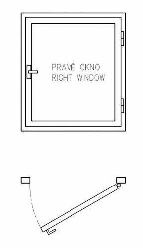Schéma pravého okna