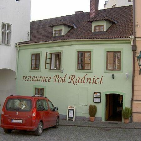 Restaurace Pod Radnicí – exteriér