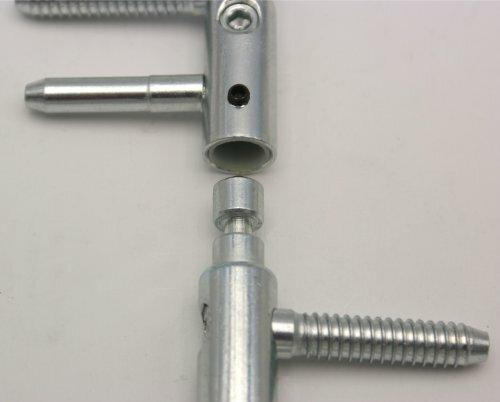 Detail zabezpečení proti bočnímu pohybu