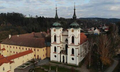 Premonstrátský klášter v Želivi