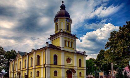 Evangelický kostel Partizánská Lupča SR
