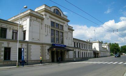 Vlakové nádraží Mariánské Lázně