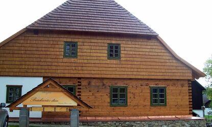 Brücknerův dům Prášily na Šumavě