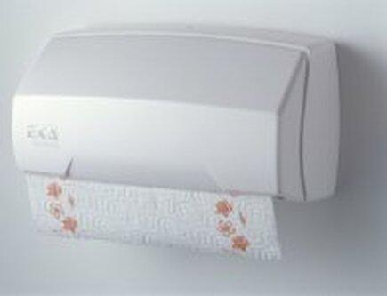 EKA zásobník na roli papírových utěrek bílý