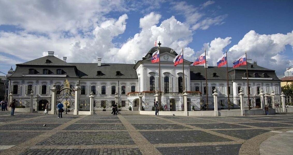 Grasalkovičův prezidentský palác Bratislava SR