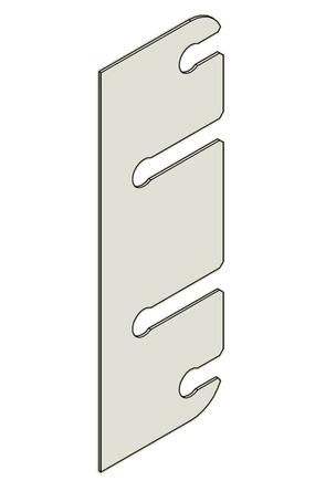 Podložka závěs dveřní 15x96 BP