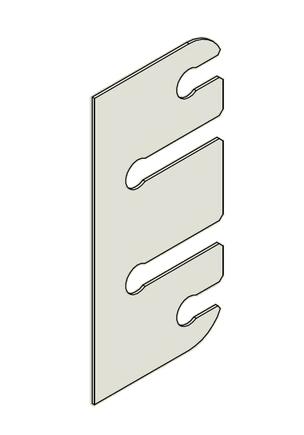 Podložka závěs dveřní 80 VD S