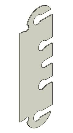 Podložka závěs dveřní TRIO 20 BP