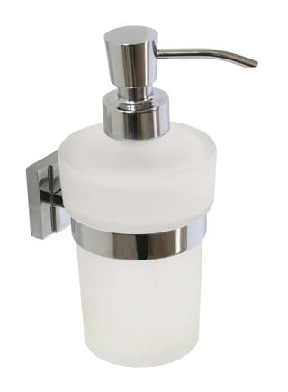QUADRA dávkovač mýdla skleněný