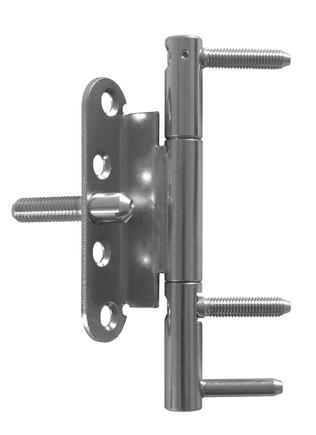 Závěs dveřní 15x150 3dílný OZ PH BZ (RC3 2D) L