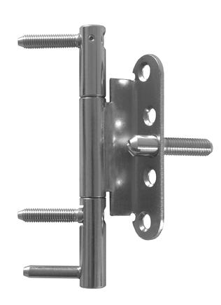 Závěs dveřní 15x150 3dílný OZ PH BZ (RC3 2D) P