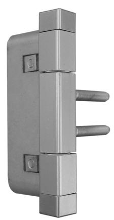 Závěs dveřní 15x90 2D-15 4HR