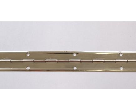 Závěs tyčový (pianový) NI 40x0,6x3500/70 s prolisem