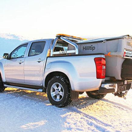 Hilltip Ice Striker - sypač na ložnou plochu