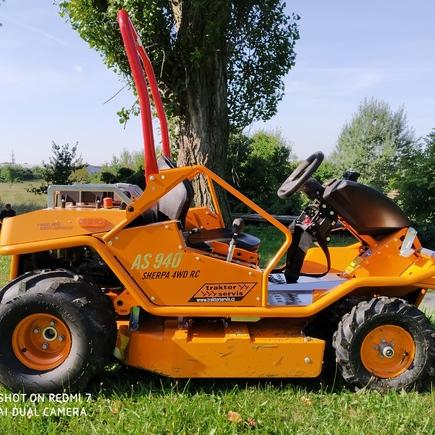 Pojezdová sekačka AS 940 SHERPA 4WD RC