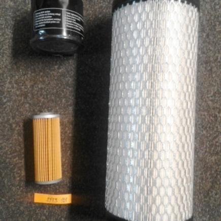 Sada filtrů SFTS 121 na Yanmar