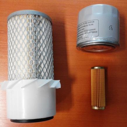 Sada filtrů SFTS 204 na Kubota,Hitachi