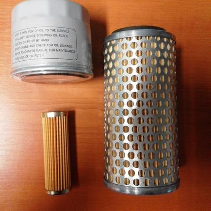 Sada filtrů SFTS 207 na Kubota B5000, B5001
