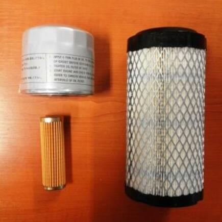 Sada filtrů SFTS 502 na Kioti CK22M
