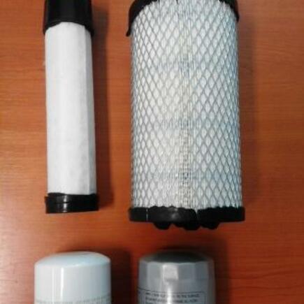 Sada filtrů palivový, vzduchový, olejový SFTS 608 pro stroj Hako Citymaster 600