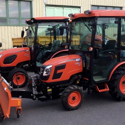 Traktor CK 3310 zimní set