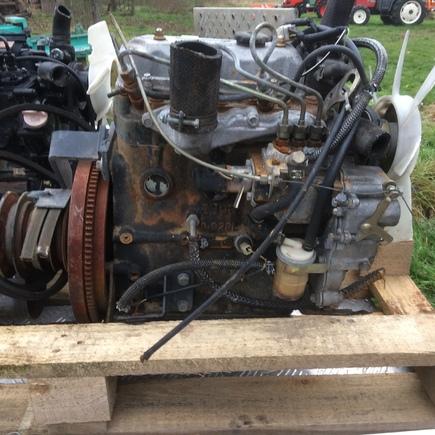 motor E393 Iseki