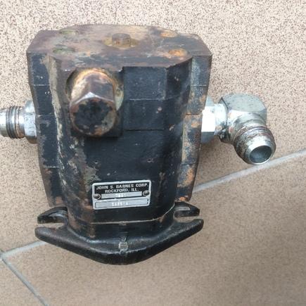 motor pohone vřeten sekačky Jacobsen TriKing