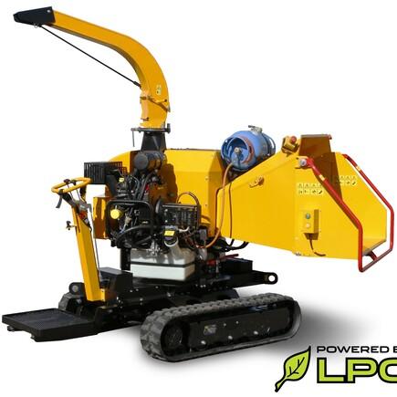 Samohybný štěpkovač Laski LS 160 PG Track Benzín/LPG