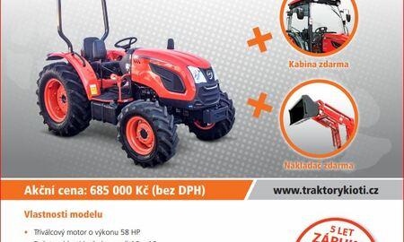 traktory Kioti