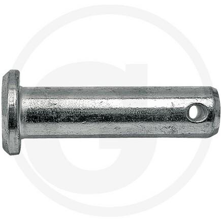 Čep závěsu 12x40mm, délka dříku po otvor 34,5 mm