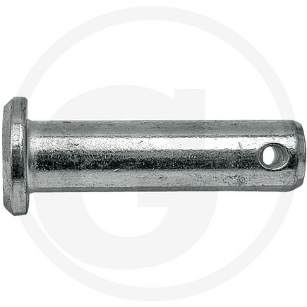Čep závěsu 12x45 mm, délka dříku po otvor 39,5 mm