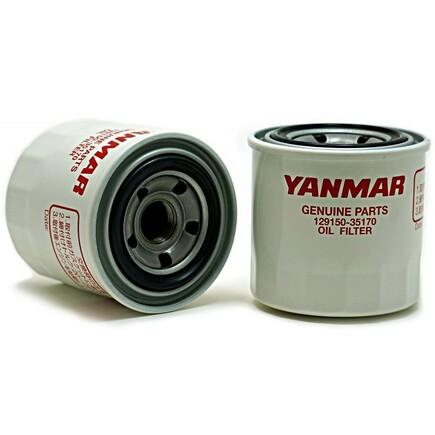 Filtr oleje 129150-35170 na motory Yanmar 4TN