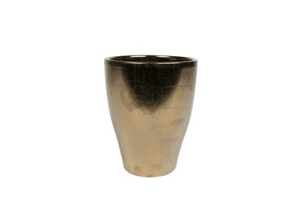 Váza Sven zlatá D14 H17