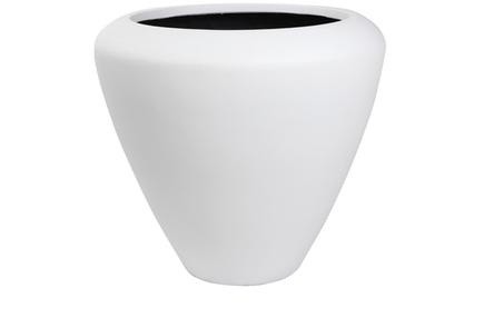 Květináč Flaire bílý D72 H65