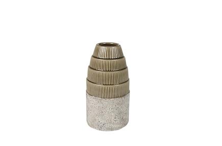 Váza Sofie taupe D13 H23