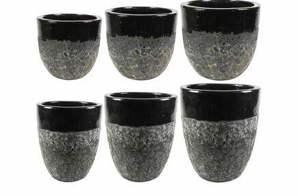 Paleta obalů a váz Pride černá D106x114 H108