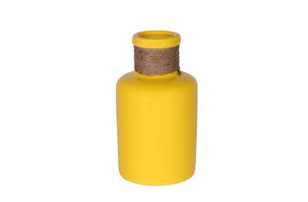 Váza Kai žlutá D5 H16