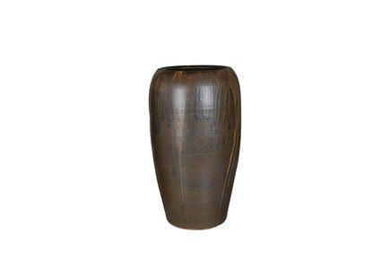 Váza Ivana sépiová hněď D36 H65