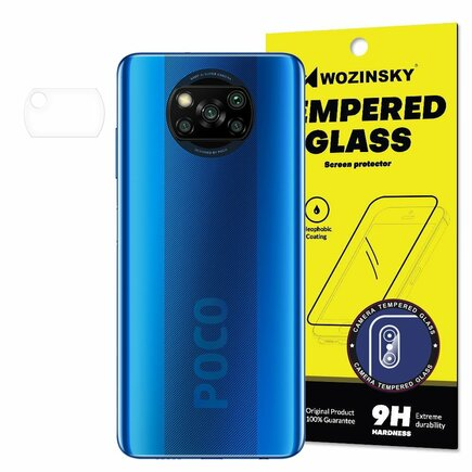 Camera Tempered Glass tvrzené sklo 9H na objektiv kamery Xiaomi Poco X3 NFC
