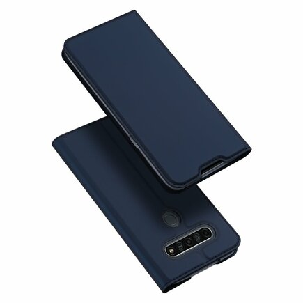 DUX DUCIS Skin Pro pouzdro s klapkou LG K61 modré