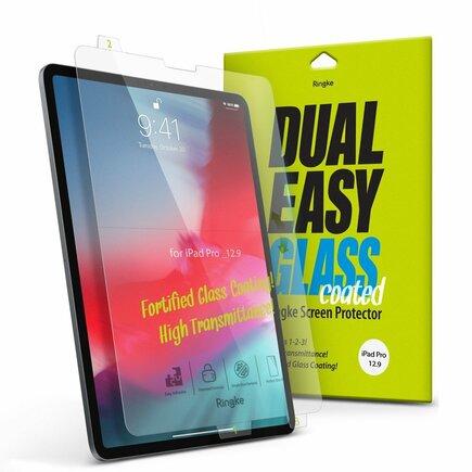 Dual Easy Glass Coated tvrzené sklo flexi 9H iPad Pro 12.9'' 2018 (DCAP0003)