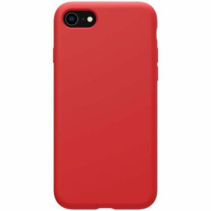 Flex Pure Liquid Silikonové Pouzdro pro iPhone 7 / 8 / SE 2020 červené