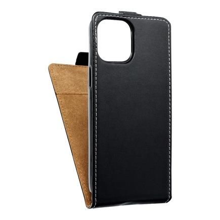 Pouzdro Slim Flexi Fresh svislé iPhone 12 Pro Max černé
