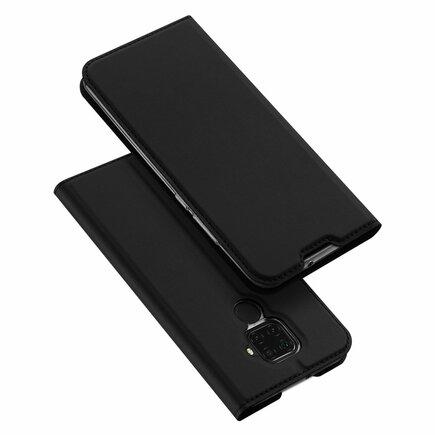 Skin Pro pouzdro s klapkou Huawei Mate 30 Lite černé