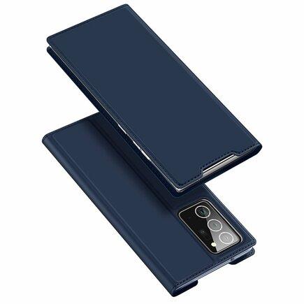 Skin Pro pouzdro s klapkou Samsung Galaxy Note 20 Ultra modré