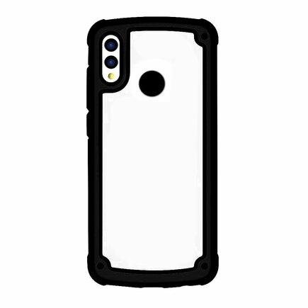 Solid Frame odolné pouzdro s gelovým rámem Samsung Galaxy S9 Plus G965 černé