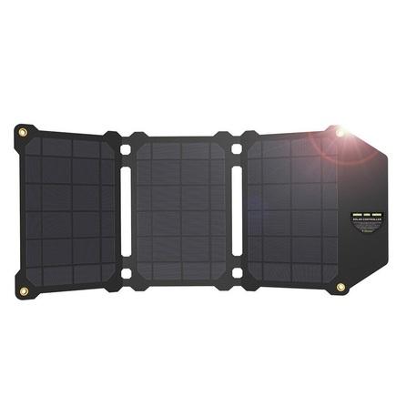 AP- ES-004-BLA Solární nabíječka 21W (EU Blister)